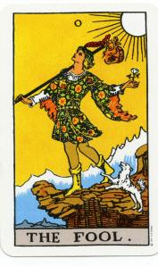 "Ryder-Waite Tarot ""The Fool"""